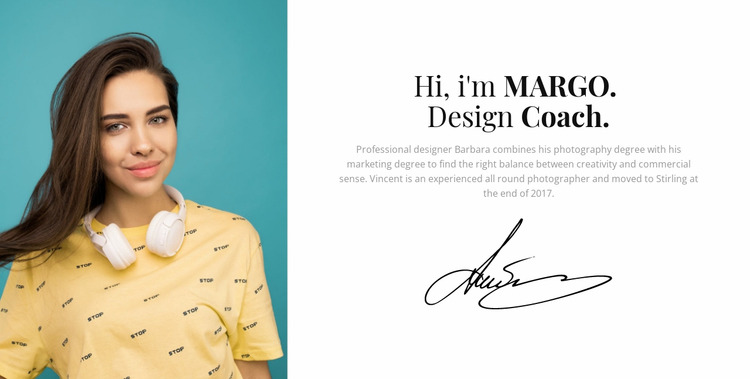 Your design coach Html Website Builder