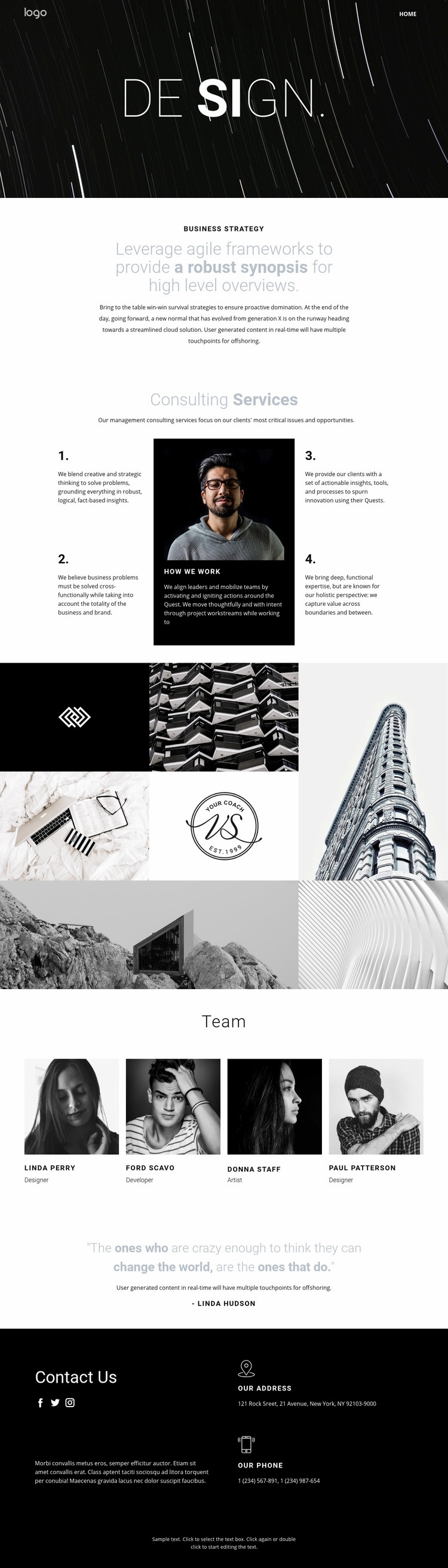 Design and creative art  Html Code Example