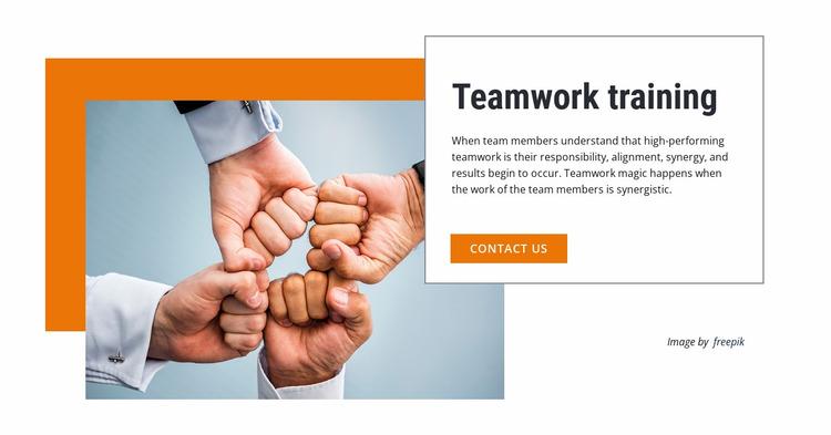 Teamwork Chat brings your team together Website Mockup