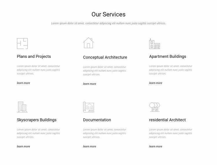 Building Engineering & Construction Services Website Mockup