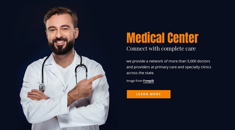 Nutrition counseling Website Template
