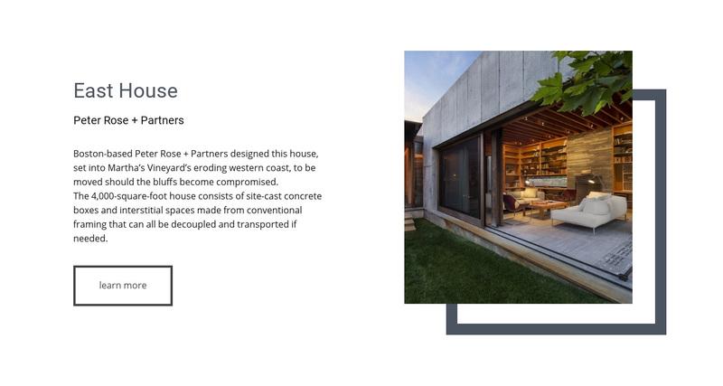 A perfect estate agent Web Page Design