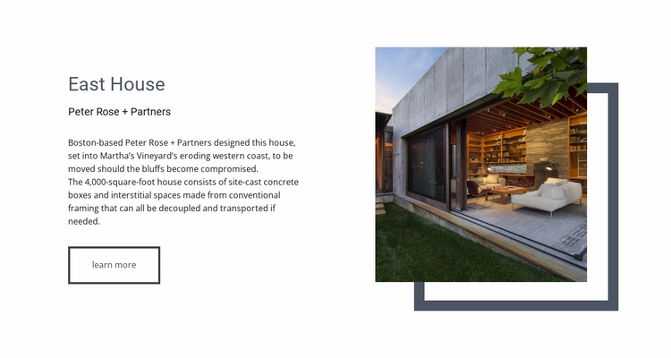 A perfect estate agent Website Template