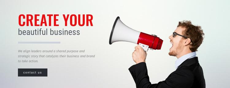 Strategic innovation Website Design