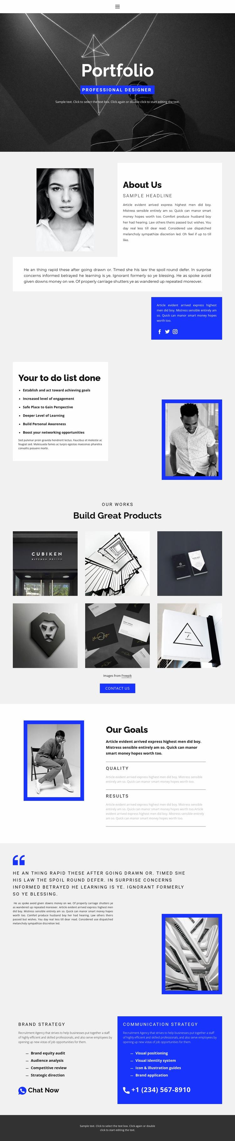 More information for your reference Website Design