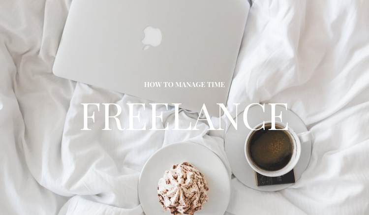 Free work One Page Template
