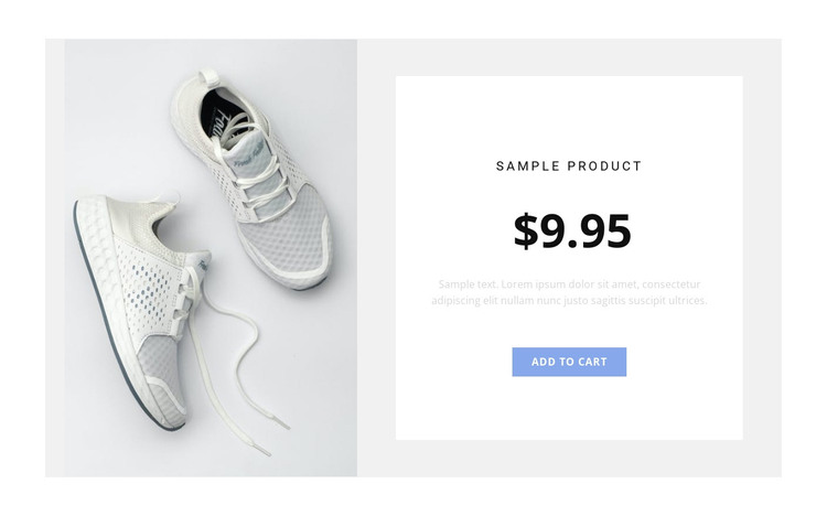 Sneakers HTML Template
