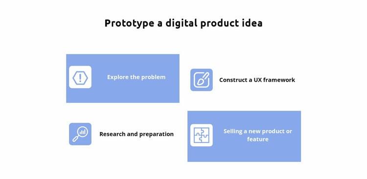 Four ideas Web Page Designer
