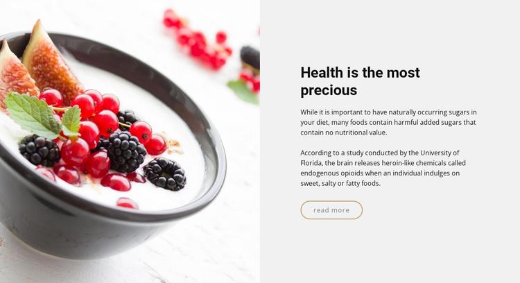 Get delicious meals Website Template