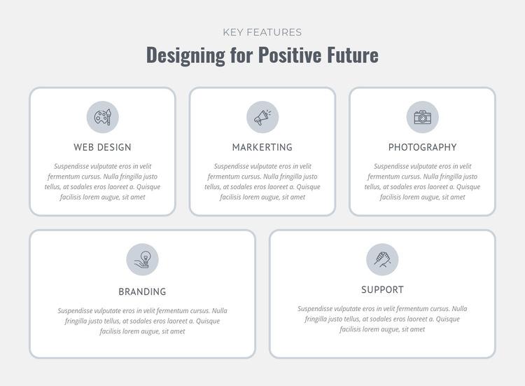 Design, prototype, manufacture HTML5 Template