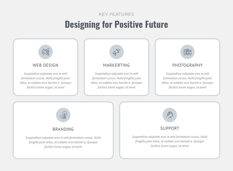 Designing for positive future Website Builder Software