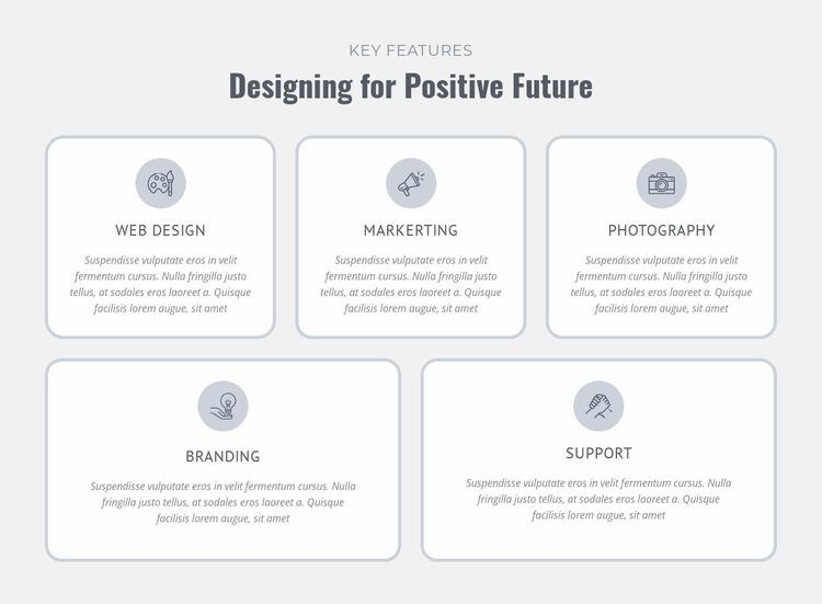 Design, prototype, manufacture Website Mockup
