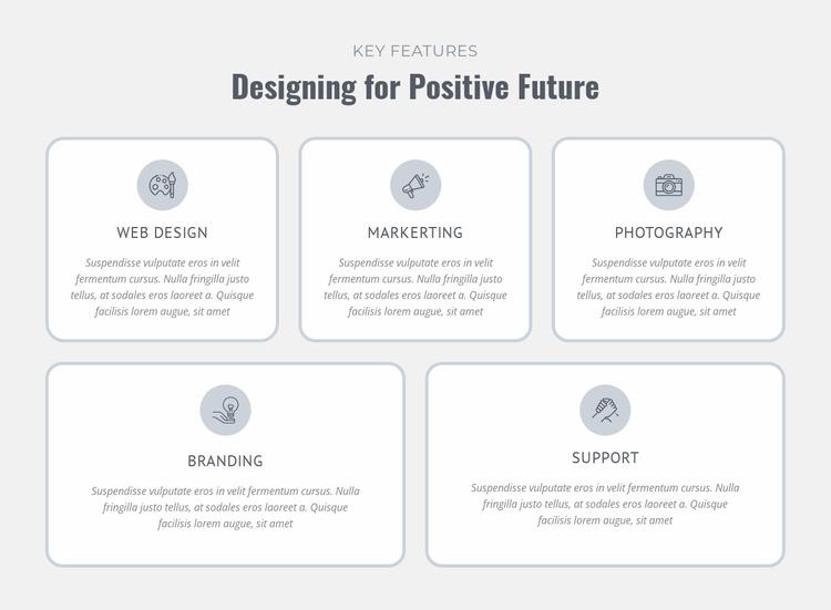 Design, prototype, manufacture Website Template