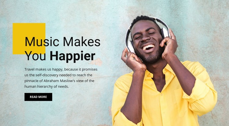 Online music and entertainment  WordPress Template