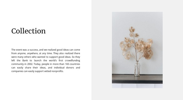 Home collection Web Page Designer