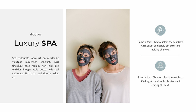 Rest with benefit Website Template