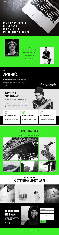 Inspirowane usługi biznesowe Szablon Joomla