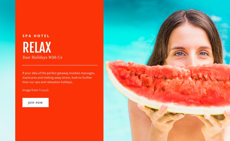 Luxury beach resort  WordPress Website Builder