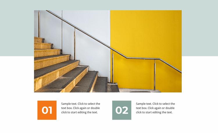 Modern office Website Template