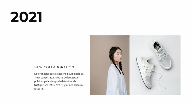 New collaboration 2021 Website Template