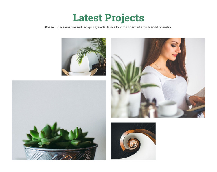 Our most successful ideas HTML Template