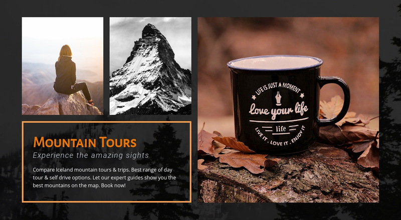 Hiking in Norway Web Page Designer