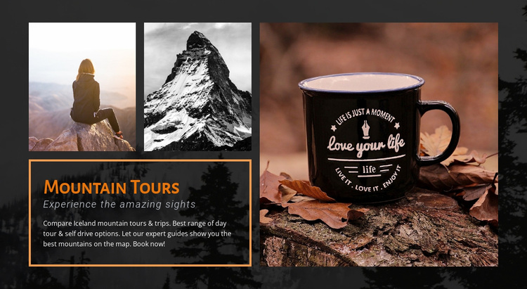 Hiking in Norway Website Design