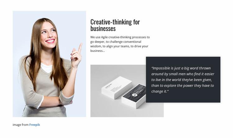 Design unique promotional items Website Template
