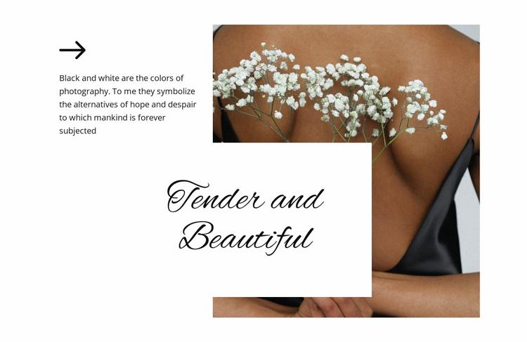 Romantic style Website Template