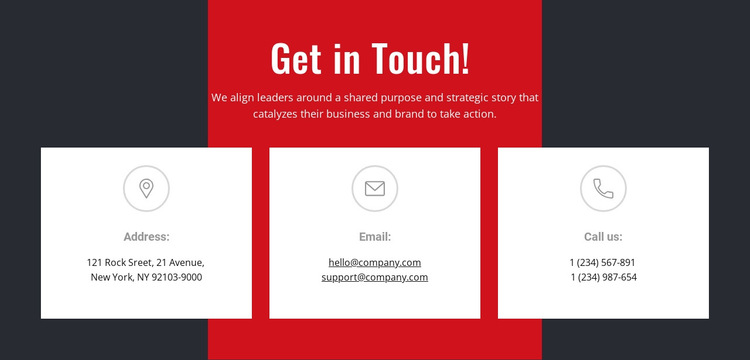 We can help you achieve your goals HTML5 Template