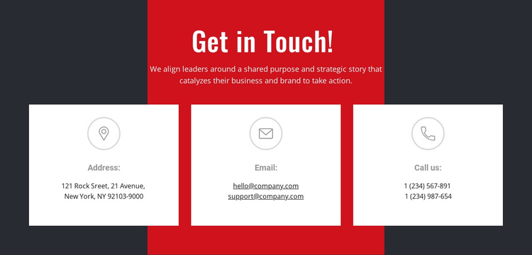 We can help you achieve your goals One Page Template
