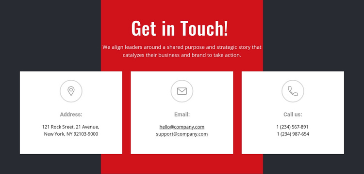 We can help you achieve your goals Website Builder Software