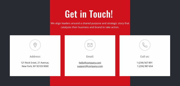 We can help you achieve your goals Website Mockup