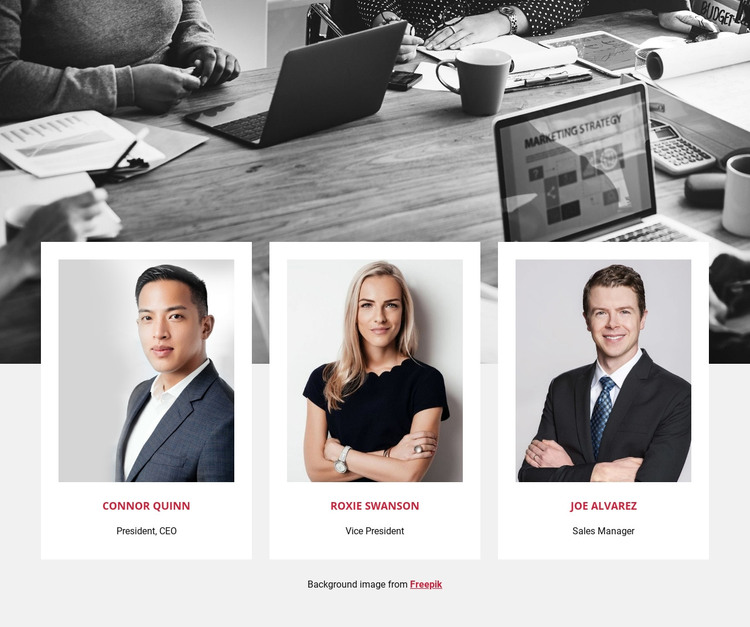 Join our team Homepage Design