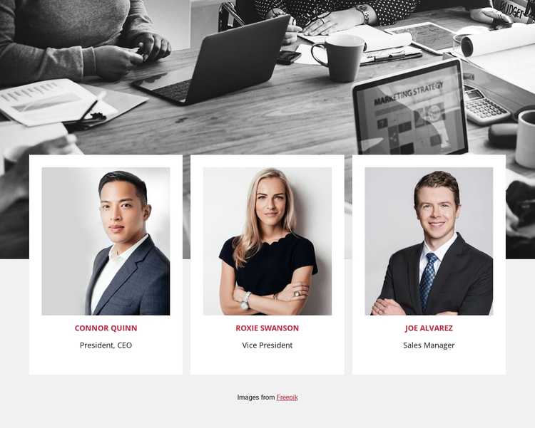 Join our team Joomla Template