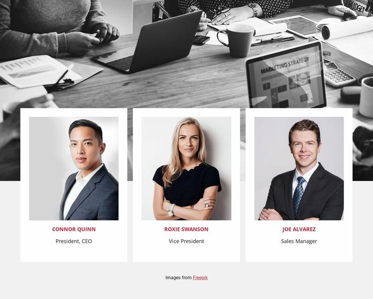 Join our team Website Design