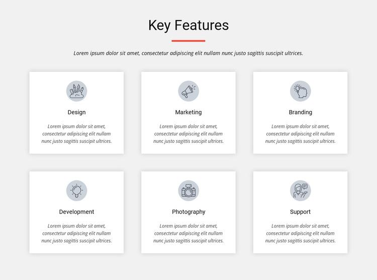 Key features Joomla Page Builder