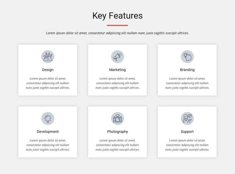 Key features Website Builder Software