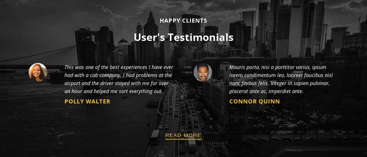 Happy customers Website Builder Software
