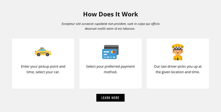 How our company work Woocommerce Theme