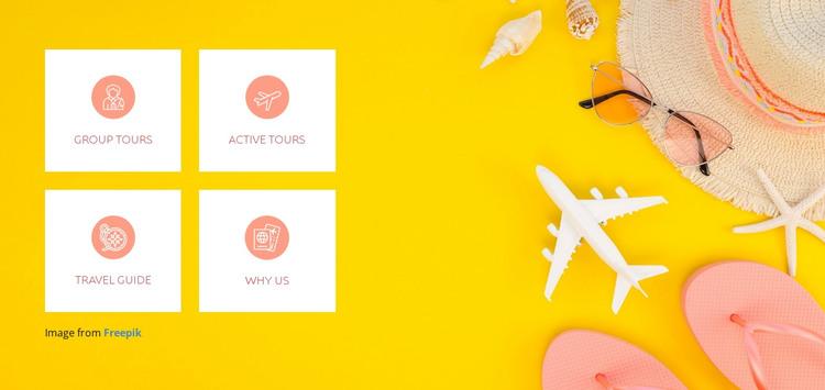 Great adventures Web Design