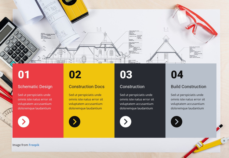 About our company Joomla Template