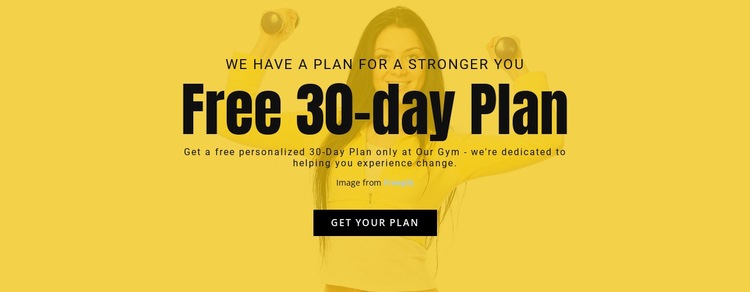 Free 30day plan Website Builder Software