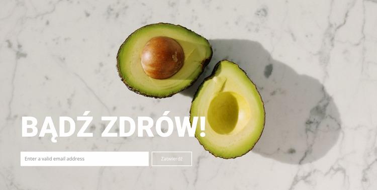 Prawidłowe odżywianie dla zdrowia Szablon Joomla