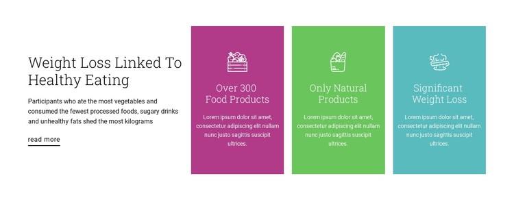 Healthy nutrition plan Static Site Generator