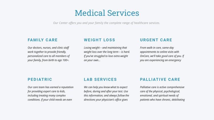 Palliative care Static Site Generator