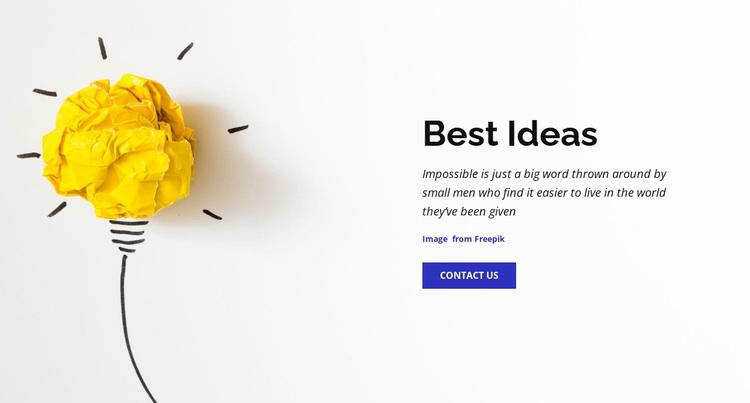 Best business ideas  Website Design