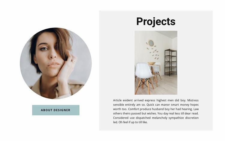 Best designer projects Web Page Designer