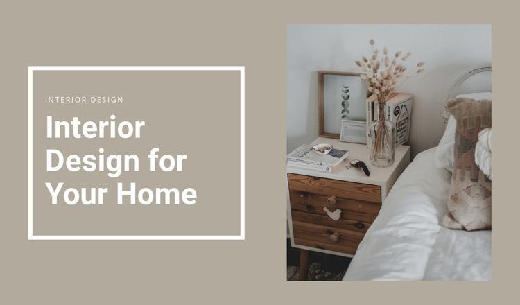 Small details for comfort Web Page Designer