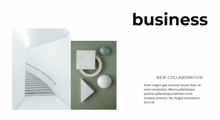 New business development Website Template